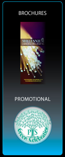 brochure & promo icons